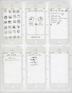 iPhone App by Jake Nicolella, via Behance