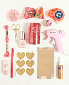 """Fun craft items to include in your """"Will You Be My DIY Bridesmaid?"""" Gift!"""