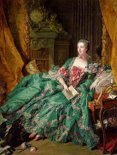 'Portrait of Madame de Pompadour' 1756