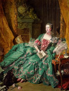 'Portrait of Madame de Pompadour' 1756