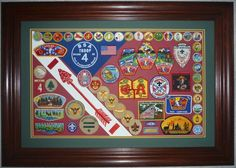 eagle scout court of honor | eagle scout court of honor display | Patch Display - Photo Gallery