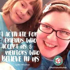 """""""I believe that everyone deserves friends who accept them and mentors who believe in them. I activate my for autism to say that everyone deserves to be a part of a community because WE ALL BELONG."""" https://geekclubbooks.com/activate4autism/?utm_campaign=coschedule&utm_source=pinterest&utm_medium=Geek%20Club%20Books&utm_content=%23Activate4Autism%20to%20Speak%20Out%20for%20Acceptance%21%20%7C%20Geek%20Club%20Books"""