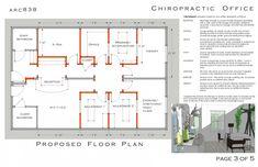 Chiropractic Office #Design Floor Plan Semi-open #Adjusting 1575 ...