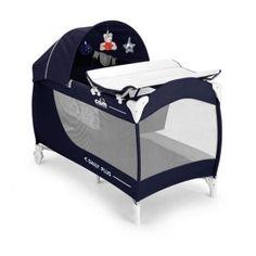 Lettino da viaggio superaccessoriato per bambini da 0 a 36 mesi che permette di portare a spasso tutti i comfort di casa.