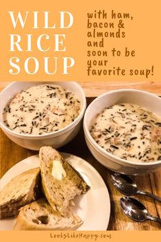 Wild Rice Soup with