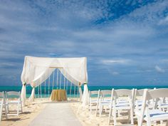 My wedding will be on a beach.