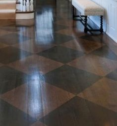 Painted Wood Floors, Everything You Need To Know - Holz Painted Porch Floors, Painted Bathroom Floors, Painted Hardwood Floors, Staining Wood Floors, Types Of Wood Flooring, Old Wood Floors, Rustic Wood Floors, Cleaning Wood Floors, White Wood Floors