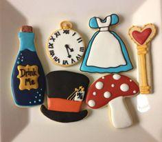 Alive in Wonderland sugar cookies