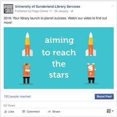 Using facebook to share our campaign video