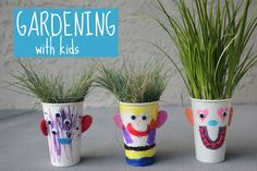 Toddler Approved!: Make Your Own Grass Hair Salon from The Garden Cla...