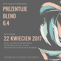 ... bo #kawa musi być palona tylko lokalnie.  #KAFO data palenia: 22 kwiecień 2017 (blend 6.4)