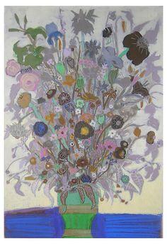 One Kings Lane - Discover Emerging Artists - Liz Innvar, Wild Plants in Green