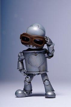 Leeel tin man robot, tiny BJD