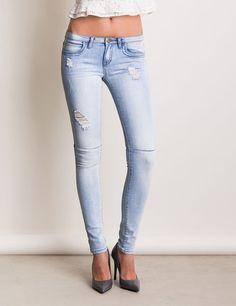jean skinny bleach jennyfer e shop