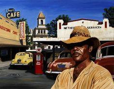 Arizona café 92 x 73