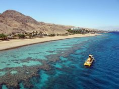 Eilat, Israel. Red Sea and snorkeling