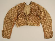 Jacket (Spencer)  Date:    early 19th century  Culture:    French (probably)  Medium:    silk
