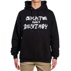 b62746514f24 Thrasher Skate and Destroy Hoodie - Black