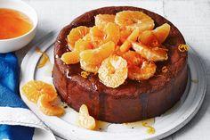 Mandarin Cake, Mandarin Juice, Chocolate Cream Cake, Springform Pan, Egg Whisk, Almond Recipes, Serving Platters, A Food, Food Processor Recipes