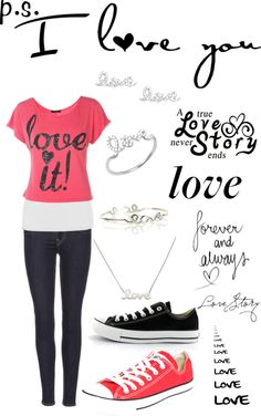 """""""Emily's fashion line...a love story"""" by emilypeaches ❤ liked on Polyvore"""