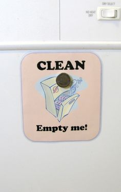 DIY Clean Empty Me! Dishwasher Sign - FREE Printable. Hope this will help my family and I be more organized in the kitchen!