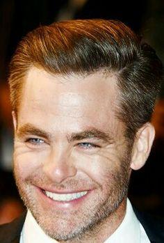 Chris Pine smile
