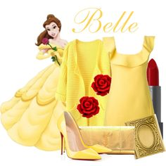 """Belle"" by trulydear on Polyvore"
