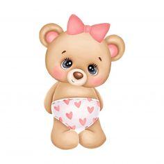 Teddy Bear Cartoon, Baby Cartoon, Cute Cartoon, Cartoon Giraffe, Cute Bear, Cute Teddy Bears, Urso Bear, Tribal Animals, Baby Posters