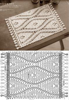 Crochet Hot Pads, Crochet Mat, Crochet Towel, Crochet Mandala, Crochet Doilies, Crochet Placemat Patterns, Crochet Tablecloth Pattern, Crochet Coaster Pattern, Crochet Diagram