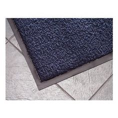 Entrance Mat, Blue, 5/16 In, 6 ft x Custom by Notrax. $34.32. Entrance Mat, Heavy Traffic, Material Decalon Yarn, Vinyl (Backing), Blue, Length Custom, Width 6 ft., Thickness 5/16 In., Heavyweight Vinyl Non-Slip Backing, Design Looped Pile, Construction Combination Of Scraping And Looped Pile Drying Yarns In A Linear Pattern, To Facilitate The Scraping Function And Begin The Drying Process