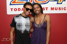 Diggy Simmons stop by to promote his album and hang with some fans