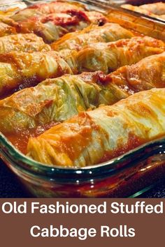 Cabbage Rolls Recipe, Cabbage Recipes, Beef Recipes, Cooking Recipes, Easy Recipes, Polish Recipes, Polish Food, Cabbage Diet, Homemade Tomato Sauce