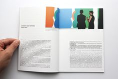National Gallery in Berlin, Yearly Chronicle - Layout on Behance
