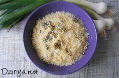 Couscous kabyle aux oignons nouveaux