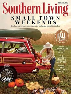 Celebrate the food and culture of the south with a Southern Living subscription, your guide to the charming Southern lifestyle. Southern Living Magazine Subscription, Cozy Inn, Tennessee Cabins, Now Magazine, Jeep Wagoneer, Storybook Cottage, Pumpkin Picking, American Sports, Psychology Today