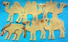 SALLY THE CAMEL HAS FIVE HUMPS FELT FLANNEL BOARD STORY SET