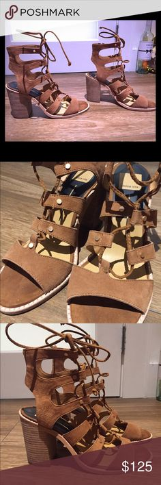 Dolce Vita Tan Heeled Sandals Dolce Vita Tan Heeled Sandals from LF. Size 9.5. Worn only 2-3 times. Comfortably and chic, an excellent addition to your winter wardrobe! Dolce Vita Shoes