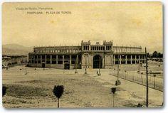 Plaza de Toros de Pamplona (Fotografía Viuda de Rubio)