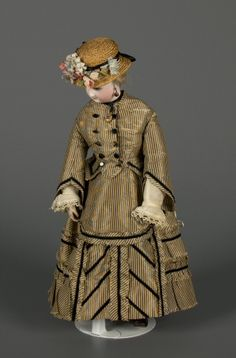 77.6647: French Fashion Doll | doll | Fashion Dolls | Dolls | National Museum of Play Online Collections | The Strong