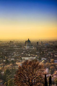 Sunset on my city by Mauro Bricchetti on 500px