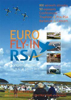 Euro Fly-in RSA 2013 à Saint-Rémy-en-Rollat. Du 19 au 21 juillet 2013 à Saint-Rémy-en-Rollat.