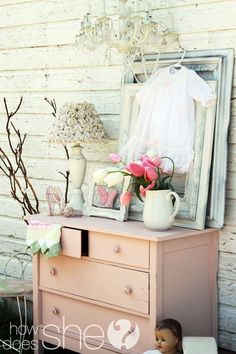 Almost identical to the dresser I did, only styled way better ;)