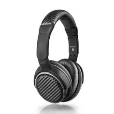 MEE audio Air-Fi Bluetooth Wireless + Wired High-Fidelity Headphones with Headset and aptX, AAC and NFC Support, Black Headphones With Microphone, Bluetooth Headphones, Best Noise Cancelling Headphones, Memoir, Gift Ideas, Technology Gifts, Ear, Price Comparison, Technology