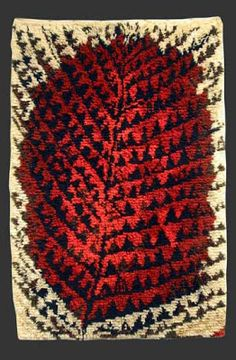 Metsässä Palaa carpet by KirstiIlvessalo Rya Rug, Wool Rug, Mid Century Art, Mid Century Design, Textile Fiber Art, Home Textile, Textile Design, Latch Hook Rugs, Diy Art Projects