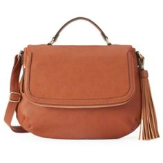 Everything will fit in this Apt. 9 messenger bag with pockets galore. Messenger Bags For School, Fall Bags, Purse Styles, Saddle Bags, Satchel, Purses, Pockets, Handbags, Purse