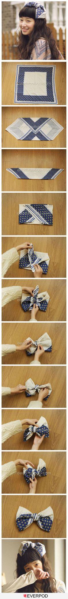 handkerchief bow