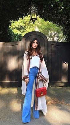 Indian Fashion Dresses, Abaya Fashion, Muslim Fashion, Kimono Fashion, Modest Fashion, Boho Fashion, Womens Fashion, Fashion Trends, Kimono Outfit