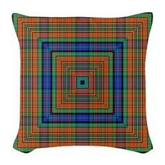 the Weaver 2 Burlap Throw Pillow