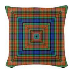 the Weaver 2 Burlap Throw Pillow