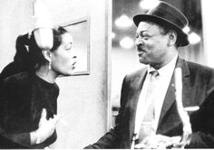 Billie Holiday and Coleman Hawkins